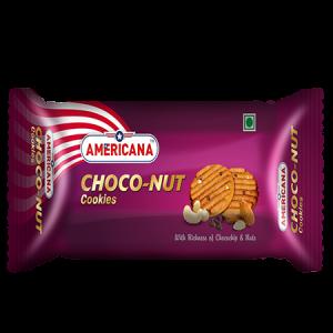 Choco nut cookies