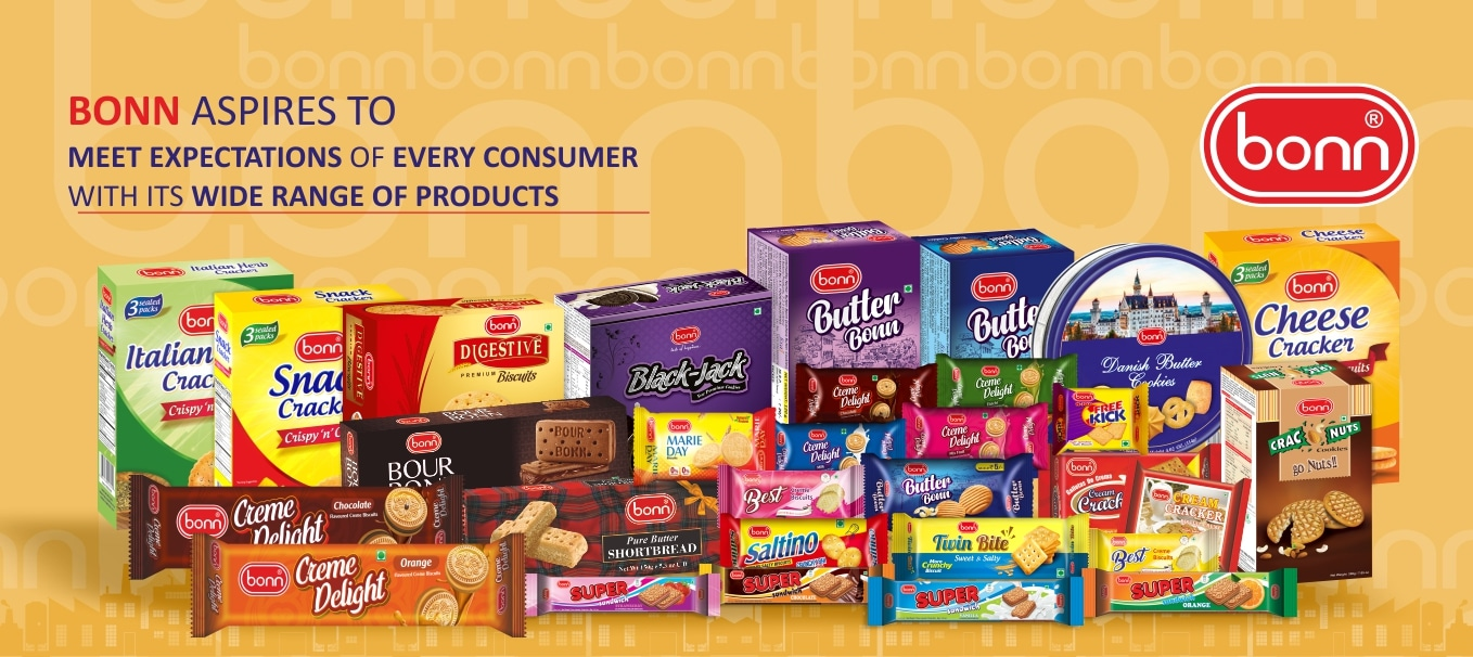 All Bonn Products Banner Image