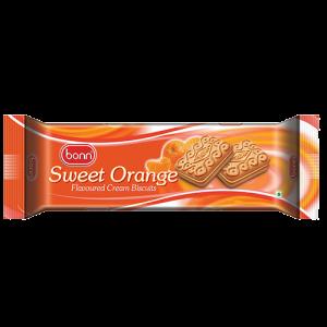 Orange flavor cookies