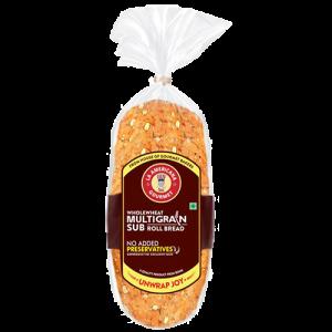 Multigrain sub roll bread