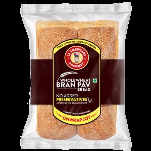 Bran pav bread