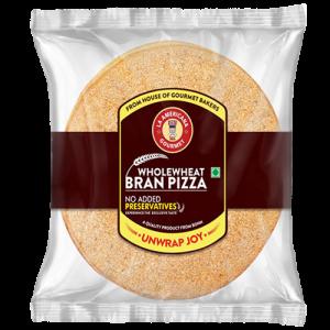 Bran pizza