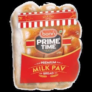 Milk pav bread