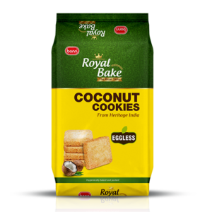 Royal bake coconut cookies