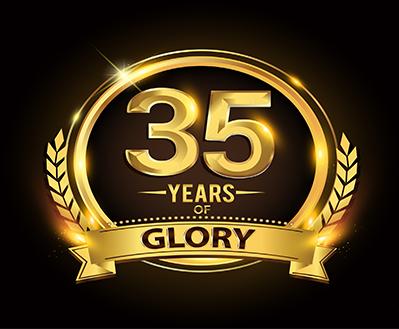 35 years of Glory Award