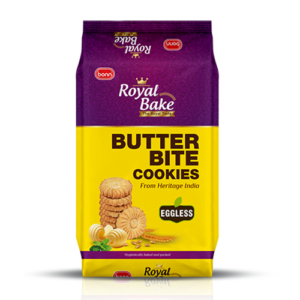 Royal Bake Butter bite cookies