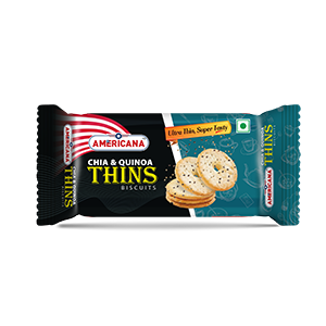 Chia & Quinoa Thins Biscuit